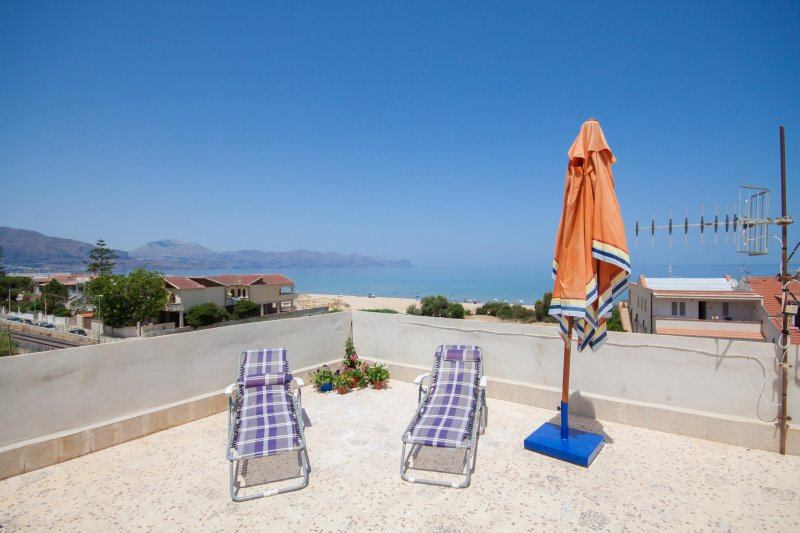 Terrace of 120 square meters equipped panoramic