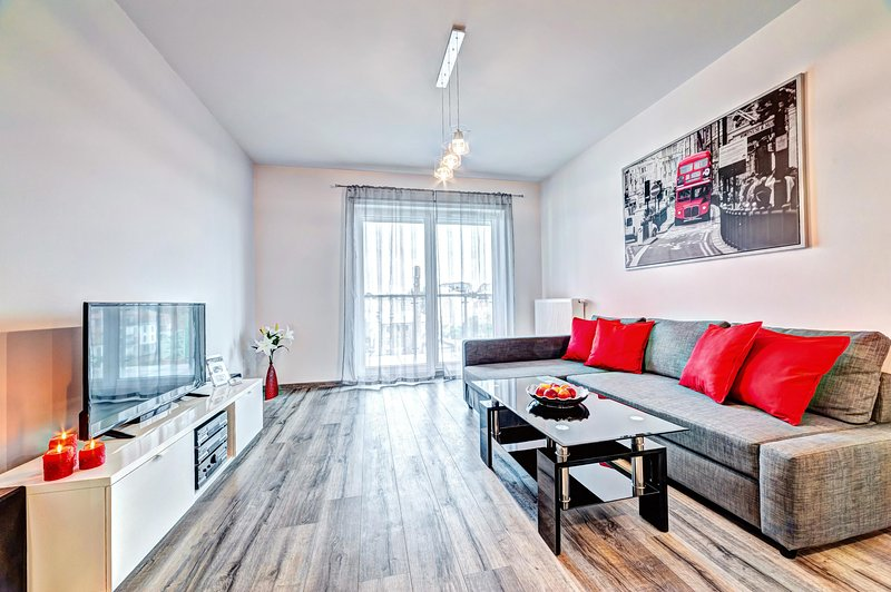 Apartament Homely Place London - Poznań, aluguéis de temporada em Jerzykowo