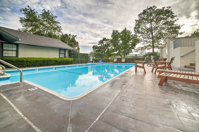 Look forward to exploring Branson while staying at this ideally-located condo.