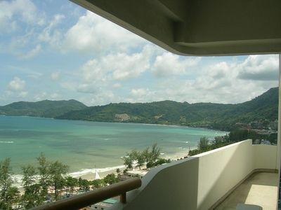 Front ocean view facing Patong Beach