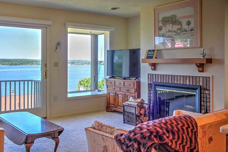 Discover the charm of Chautauqua from this 2-bed, 2-bath vacation rental condo.