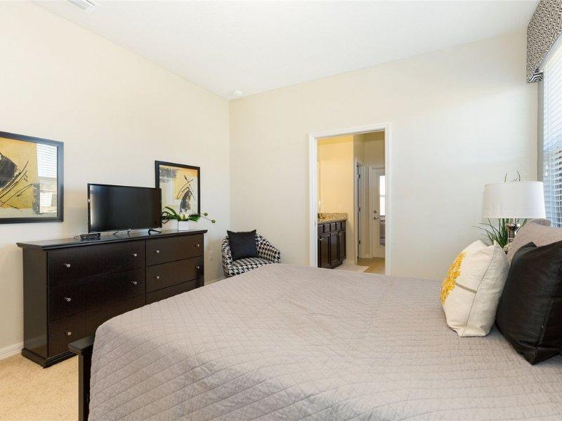 Bett, Möbel, Innenaufnahme, Zimmer