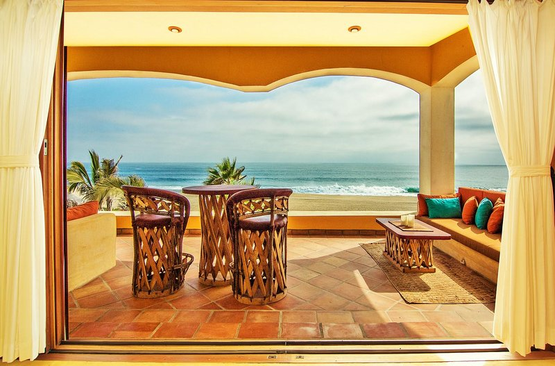 Panoramic Ocean and Sandy White Beach Views from every suite.