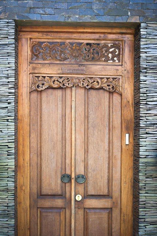 Your villa is behind this door
