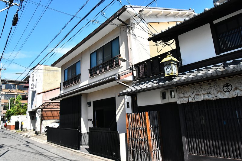 Traditional 'Machiya' townhouse with both modern and traditional interior