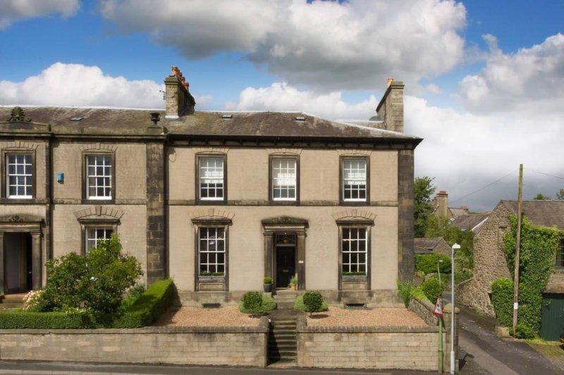 Georgeous Georgian Town casa em casa Settle com quartos encantadores para relaxar em Yorkshire Dales