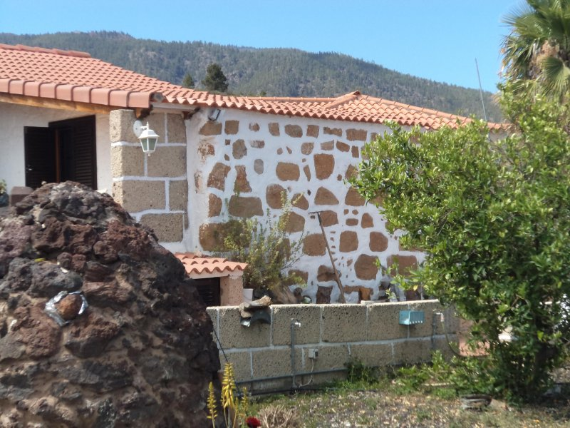 Charming country house in South of Tenerife, vacation rental in Las Chafiras