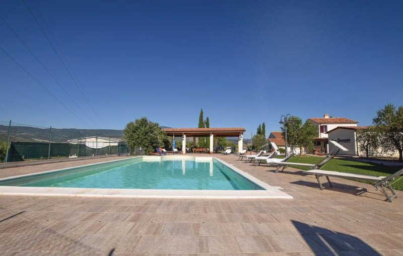 Swimming pool overlooking the Val D'Orcia