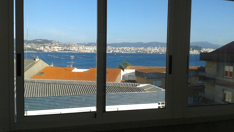 Charming Attic with a view to the Bay of Vigo in Galicia, Northwest Spain