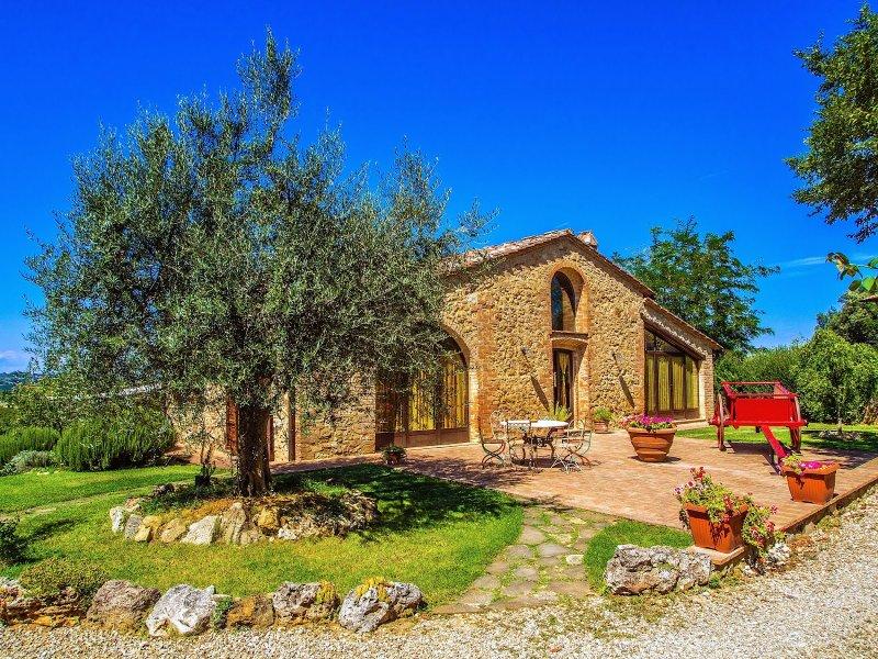 Villa of Pancole_San Gimignano_1