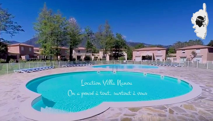 VILLA 6 COUCHAGES DANS RESIDENCE SECURISEE 3*, holiday rental in San Giuliano