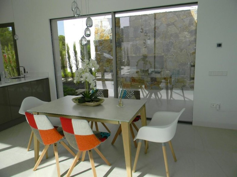 Internal and external dining areas