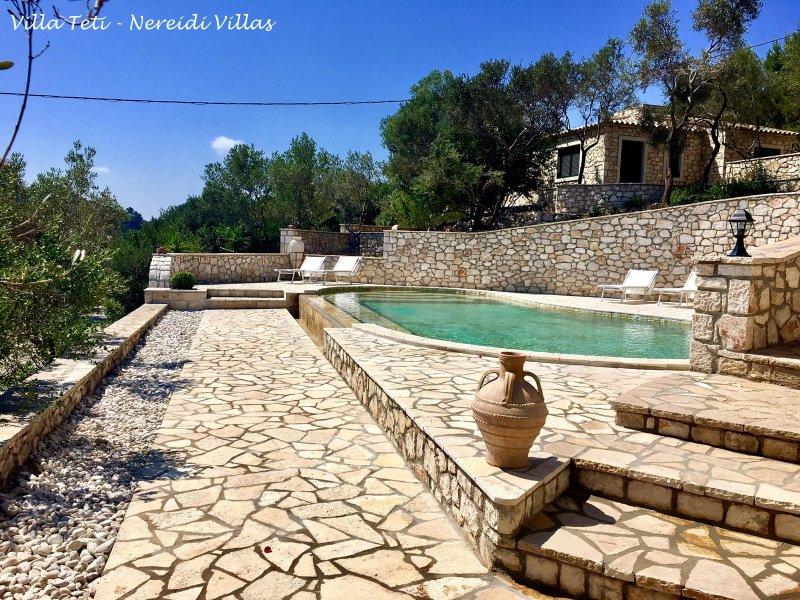 Nereidi Villas - Villa Teti, alquiler vacacional en Ammoudia