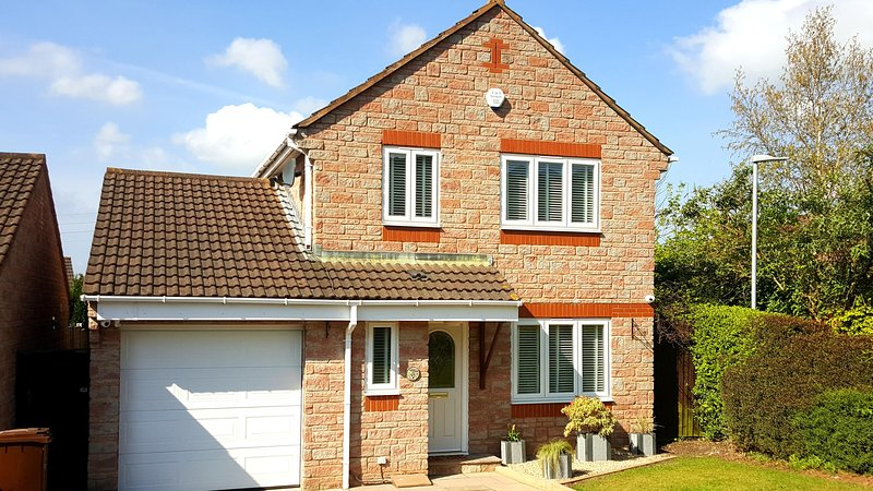 Sleight View House, Draycott, Cheddar, holiday rental in Draycott