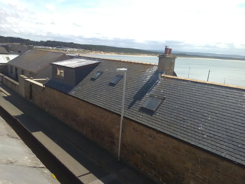 Firth View Apartment North Scotland Seaside Harbour Village., vakantiewoning in Findhorn