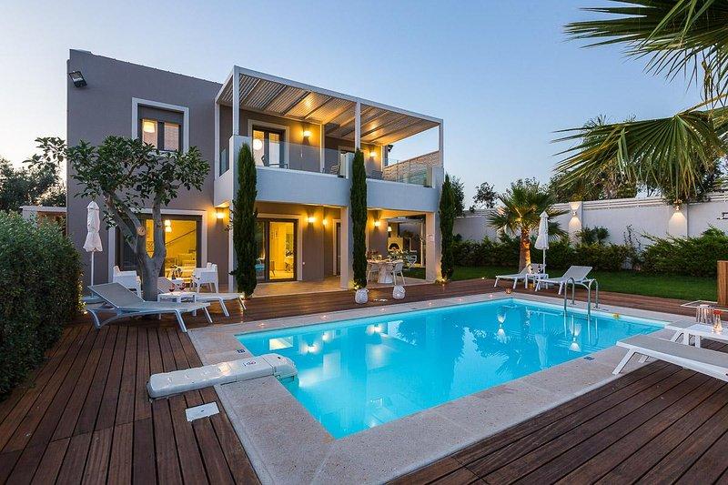 Villa Vasia heeft een verbazingwekkende 35 m2 privé zwembad!