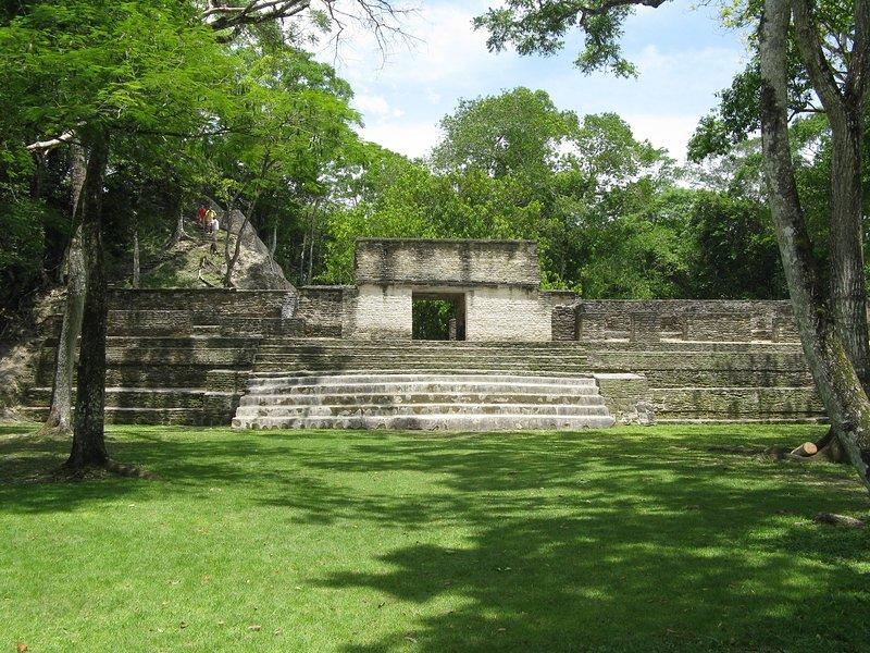 Cahal Pech Maya Ruina minutos ...
