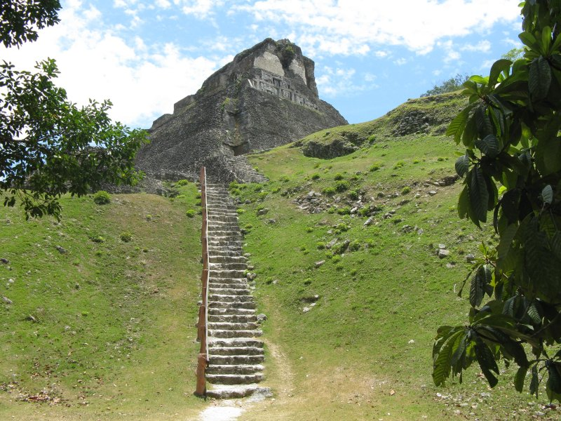 Xunantunich Maya Ruins....15 minutes away by car