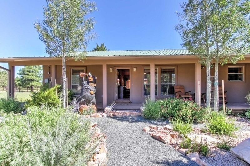Su próxima aventura suroeste espera en esta casa de vacaciones inmejorable en Alto!