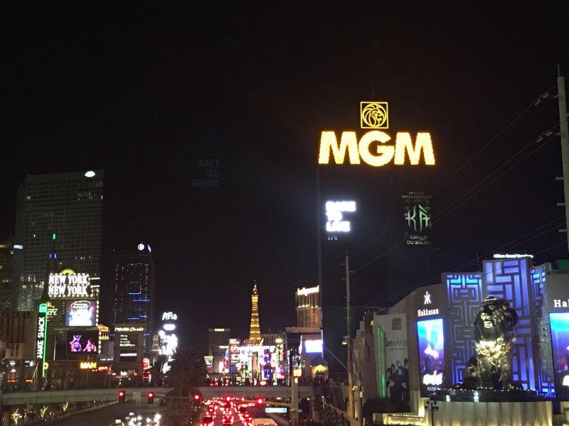 Onze Penthouse is in het MGM hotel complex direct aan de prachtige Las Vegas Strip