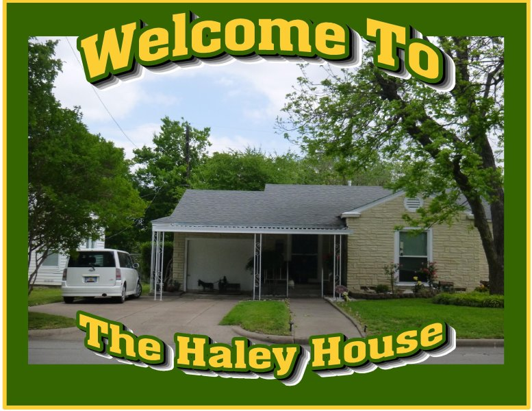 The Haley House: A peaceful place in the city of the city