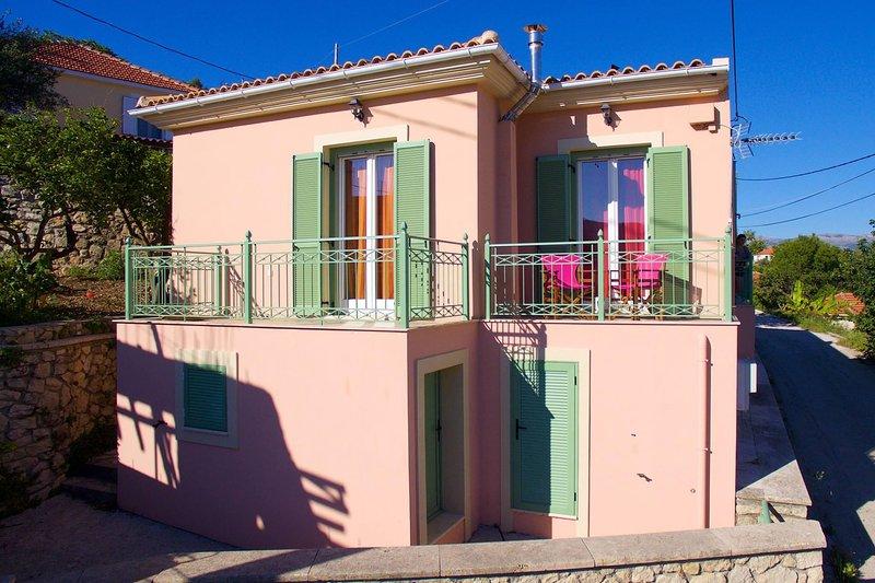 Traditional Kefalonian Home ''Regina'', location de vacances à Atheras