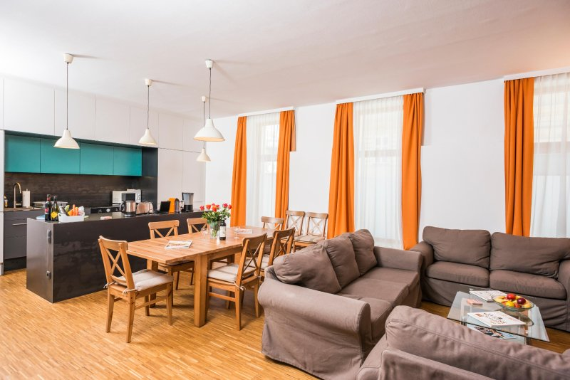 Spacious Apartment with garden Ap9, holiday rental in Oberkirchbach