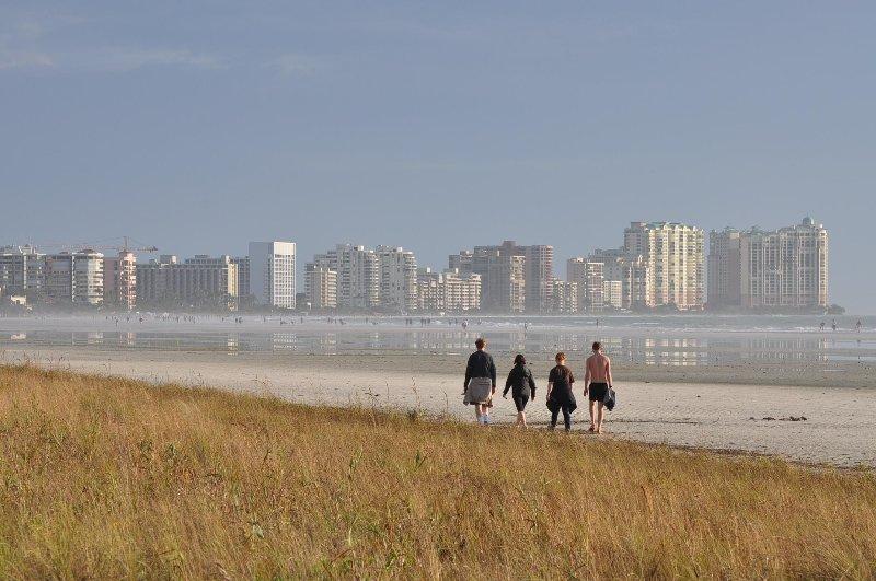 Famosa praia de Marco Island está apenas a 8 minutos de distância