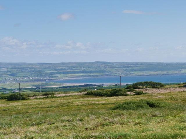 View of Lahinch from the property
