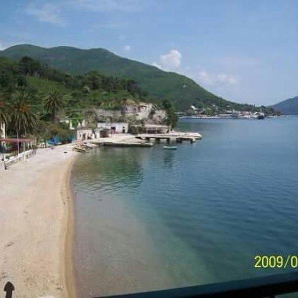 Meljine, local sandy beach