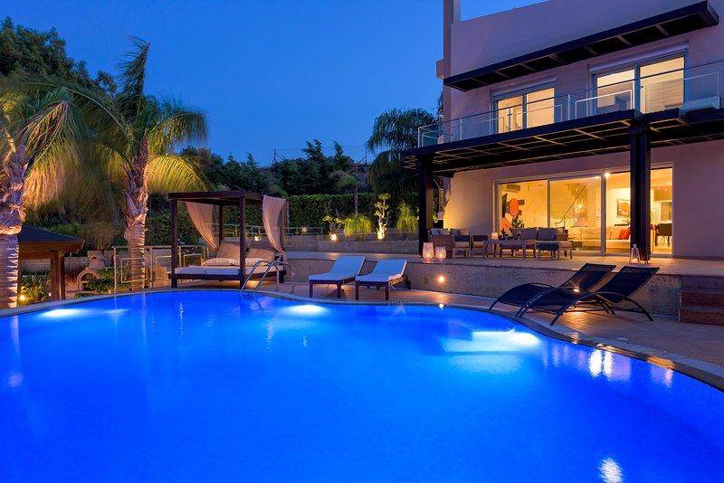 Quinn Hill - Luxury Villa, location de vacances à Ladiko