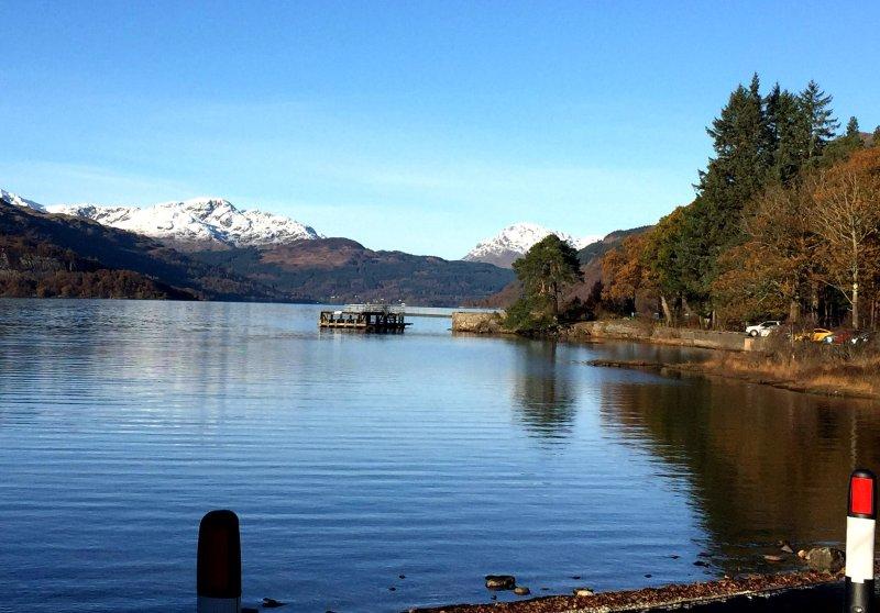 Bela Loch Lomond, qualquer época do ano!