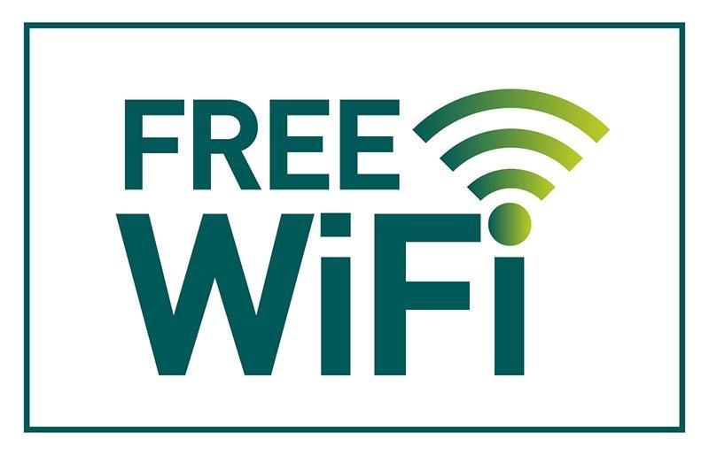 WiFi gratuito en todo el edificio