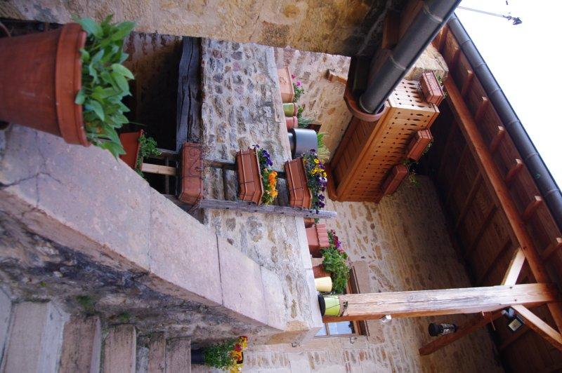 The terrace area
