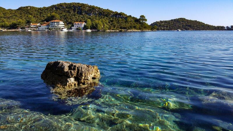 Photo de la maison et la baie Lenga