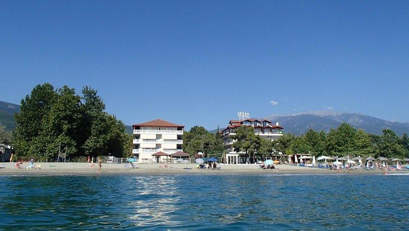 Studio vue mer en bord de plage., holiday rental in Platamon