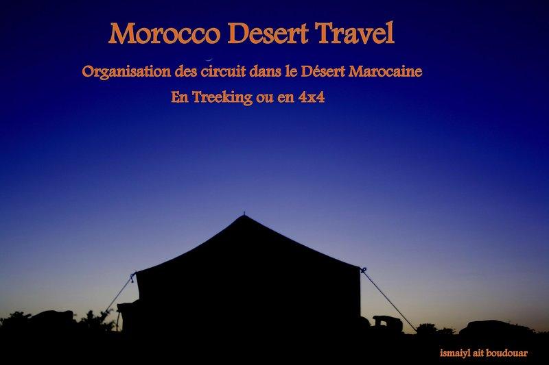 Venez passé une nuit a la belle étoile, vacation rental in Ait Ben Haddou