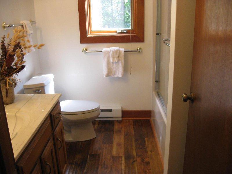 Bovenste verdieping badkamer