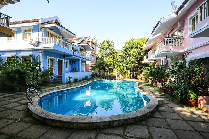 Goan Courtyard Apartments, holiday rental in Vagator