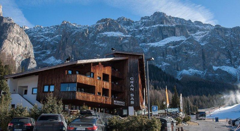 Appartamento in residence multiproprietà a Plan de Gralba Selva di val Gardena, Ferienwohnung in La Villa