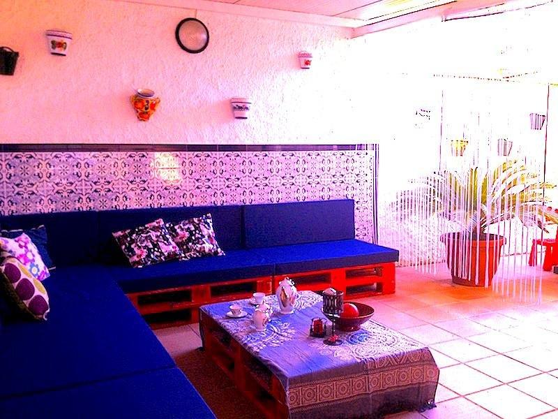 Porche con zona chill-out Casa Tamesi12