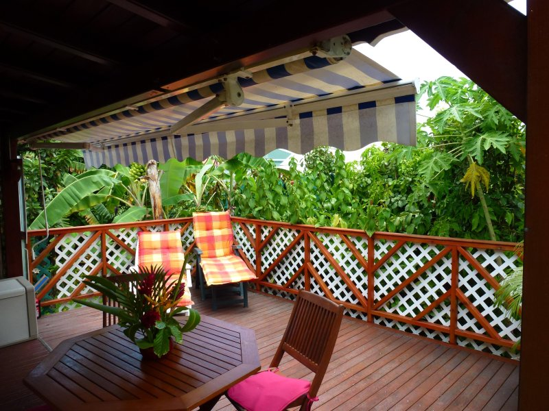 Bungalows for 2 people in tropical garden in Sainte-Anne - Guadeloupe
