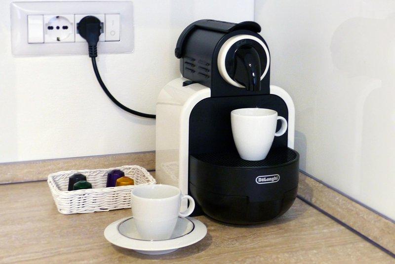 ... e bom café Nespresso!
