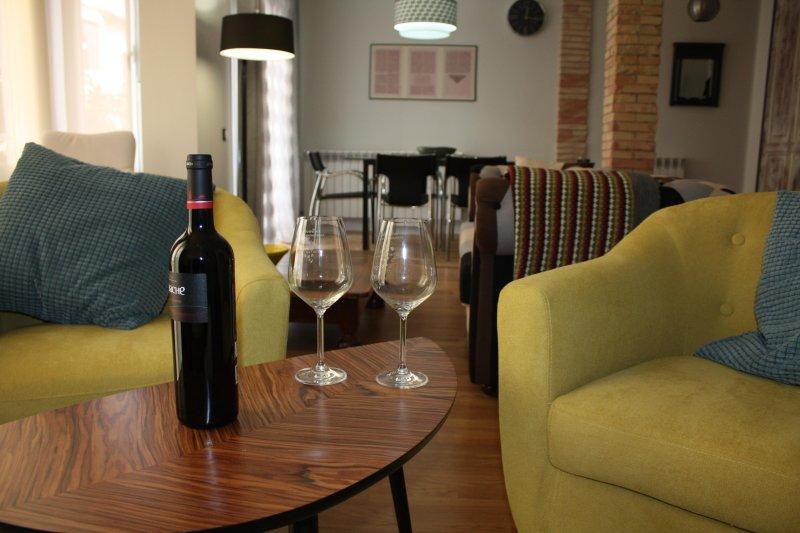 LarDviura, tu casa en Logroño. El lugar ideal para descubrir la ciudad., alquiler de vacaciones en Logroño