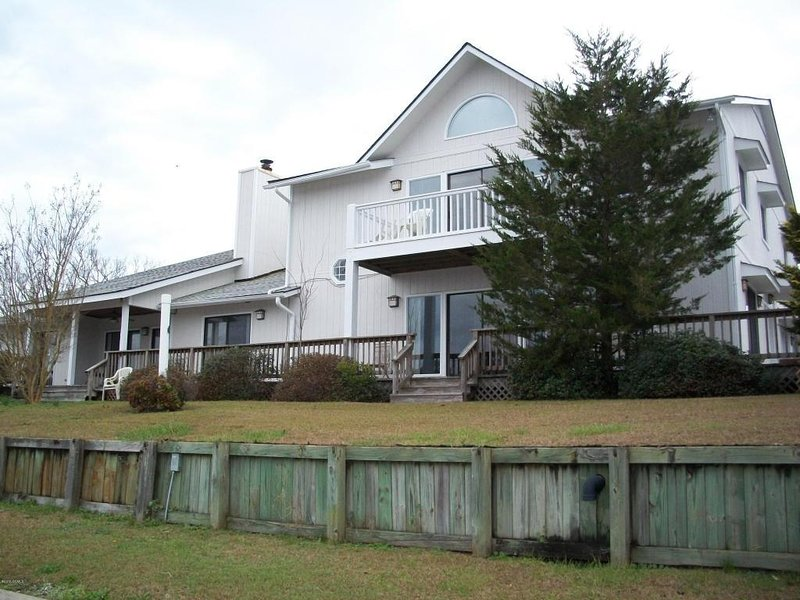 View of house from back