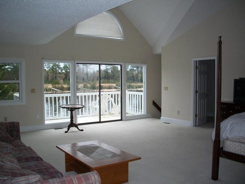 View of balcony of master bedroom
