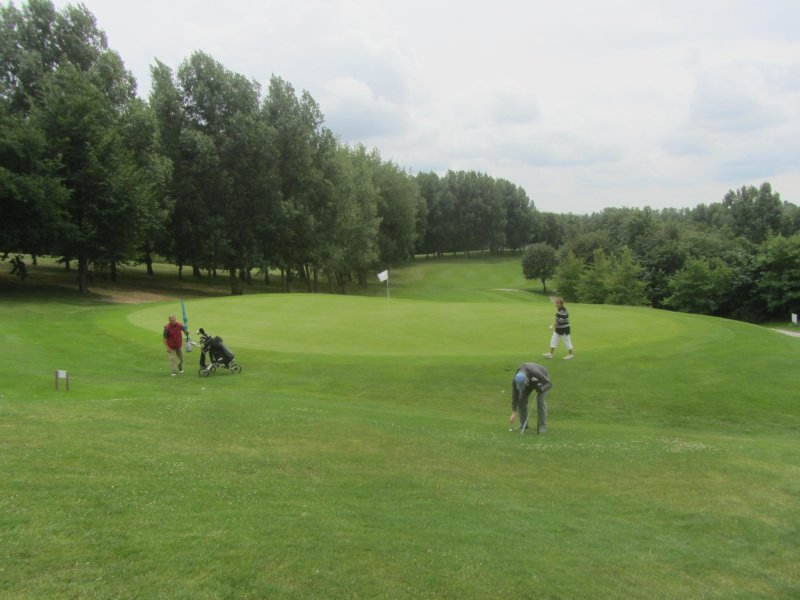 One of the greens
