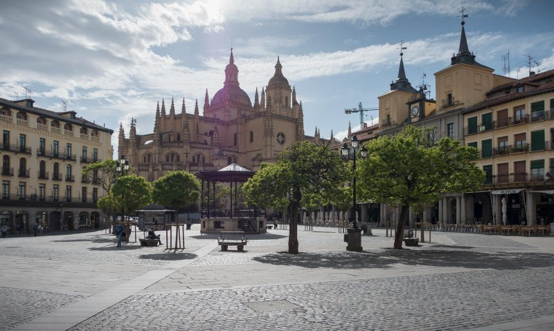 Segovia cathedral less than an hour away and delicious cochinnillo!