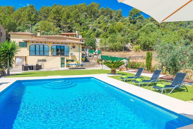 SA TANCA (MANCORINA) - Villa for 6 people in Mancor De La Vall, alquiler de vacaciones en Mallorca