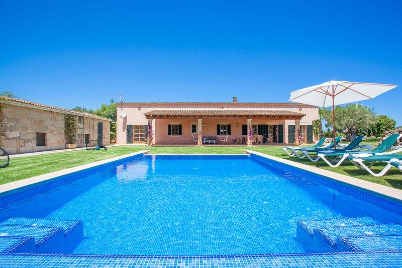 SON PARERA - Villa for 8 people in Muro, holiday rental in Muro